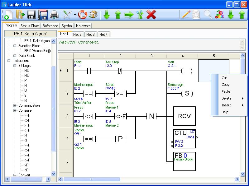 Plc programlama speed plc plc programı
